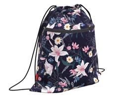 Мешок для обуви ErichKrause® с карманом на молнии 500х410мм Lily 49106