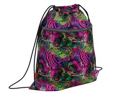 Мешок для обуви ErichKrause® с карманом на молнии 500х410мм Color Madness 49107