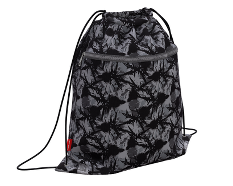 Мешок для обуви ErichKrause® с карманом на молнии 500х410мм Thistle 49110