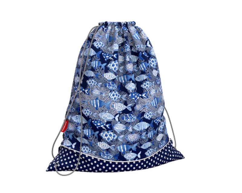Мешок для обуви ErichKrause® 365x440мм Fish and Dots 49129