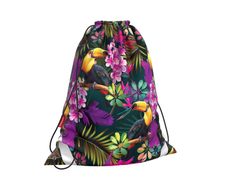 Мешок для обуви ErichKrause® 365x440мм Tropics 49142