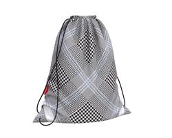 Мешок для обуви ErichKrause® 365x440мм Black&White 49146