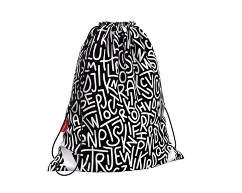 Мешок для обуви ErichKrause® 365x440мм Alphabet 49150