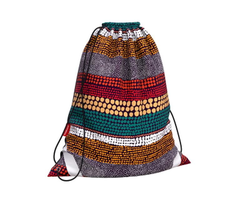 Мешок для обуви ErichKrause® 365x440мм Mosaic Strips 49154