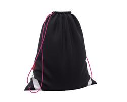 Мешок для обуви ErichKrause® 365x440мм Black&Pink 49160