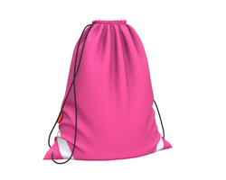 Мешок для обуви ErichKrause® 365x440мм Neon Pink 49161