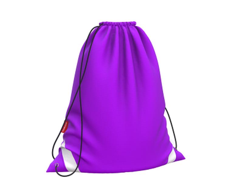 Мешок для обуви ErichKrause® 365x440мм Neon Violet 49163