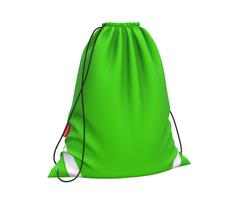 Мешок для обуви ErichKrause® 365x440мм Neon Green 49164