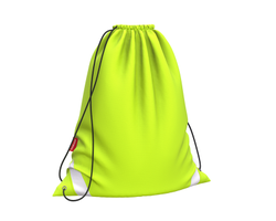 Мешок для обуви ErichKrause® 365x440мм Neon Yellow 49165