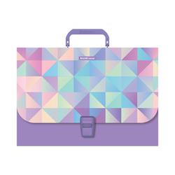 Портфель пластиковый ErichKrause® Magic Rhombs, A4 (в пакете по  1шт.) 49280