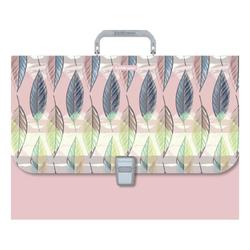 Портфель пластиковый ErichKrause® Flora, FC А4+49282