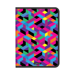 Папка для тетрадей на молнии пластиковая ErichKrause® Disco Style, A4 (в пакете по 4 шт.) 49286