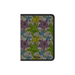 Папка для тетрадей на молнии пластиковая ErichKrause® Purple Python, A4 49289