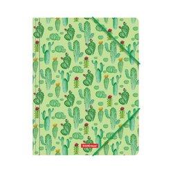 Папка на резинках пластиковая ErichKrause® Tropical Cactus, A4 49292