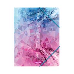 Папка на резинках пластиковая  ErichKrause® Pink Dynamique, A4 49294