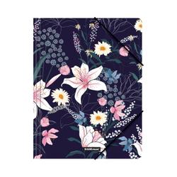 Папка на резинках пластиковая ErichKrause® Lily, A4 49296