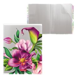 Папка файловая пластиковая ErichKrause® Tropical Flowers, c 20 карманами, A4 49314