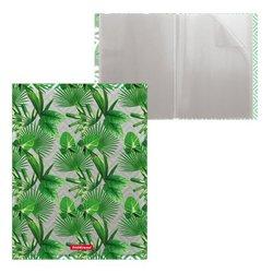 Папка файловая пластиковая ErichKrause® Tropical Leaves, c 30 карманами, A4 49318