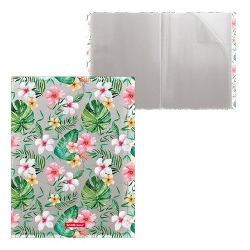 Папка файловая пластиковая ErichKrause® Tropical Nature, c 20 карманами, A4 49320
