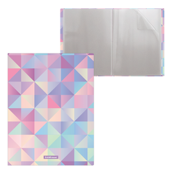 Папка файловая пластиковая ErichKrause® Magic Rhombs, c 20 карманами, A4 49326