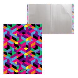 Папка файловая пластиковая ErichKrause® Disco Style, c 20 карманами, A4 49329
