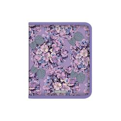 Папка для тетрадей на молнии пластиковая  ErichKrause® Hydrangea, A5+ 49352