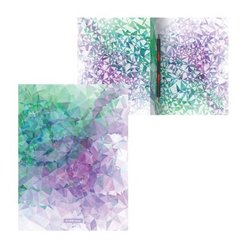 Папка-скоросшиватель пластиковая с пружинным механизмом ErichKrause® Violet Dynamique, A4 49372