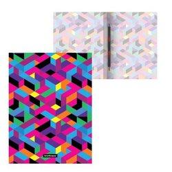 Папка-скоросшиватель пластиковая с пружинным механизмом ErichKrause® Disco Style, A4 49374
