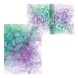 Папка с боковым зажимом пластиковая ErichKrause® Violet Dynamique, A4 49380