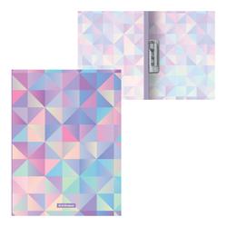 Папка с боковым зажимом пластиковая ErichKrause® Magic Rhombs, A4 49381