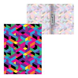 Папка с боковым зажимом пластиковая ErichKrause® Disco Style, A4 49382