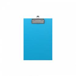 Планшет с зажимом ErichKrause® Neon, А5, голубой 49440
