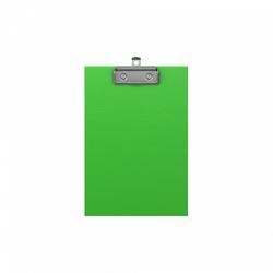 Планшет с зажимом ErichKrause® Neon, А5, зеленый 49441