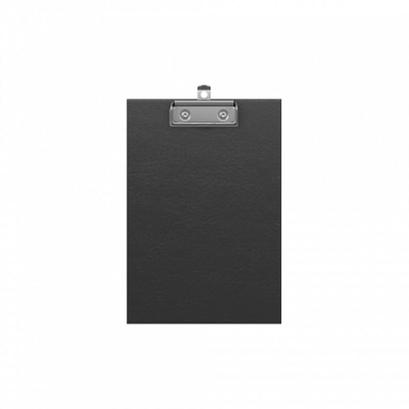 Планшет с зажимом ErichKrause® Standard, А5, черный 49444