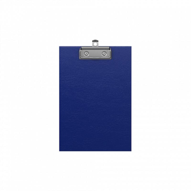 Планшет с зажимом ErichKrause® Standard, А5, синий 49445