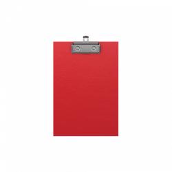 Планшет с зажимом ErichKrause® Standard, А5, красный 49446