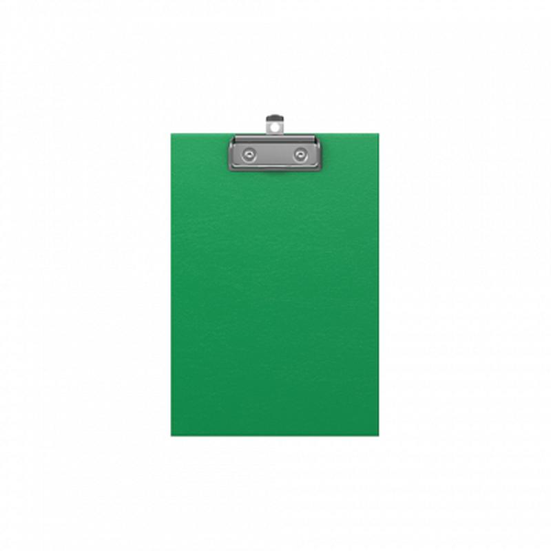 Планшет с зажимом ErichKrause® Standard, А5, зеленый 49447