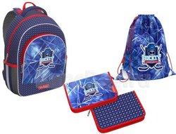 Ученический рюкзак ErichKrause® ErgoLine® 15L Hockey с наполнением 49463/1