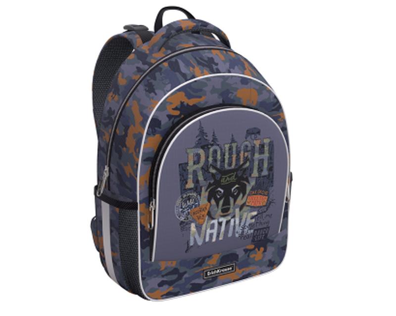 Ученический рюкзак ErichKrause® ErgoLine® 15L Rough Native 49466