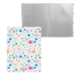 Папка файловая пластиковая ErichKrause® Neon Stars, c 20 карманами, A4 49512