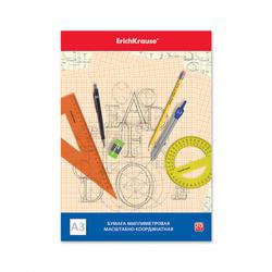 Бумага масштабно-координатная в папке ErichKrause®, А3, 20 листов 49726
