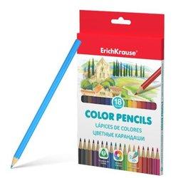 Цветные карандаши трехгранные ErichKrause® 18 цветов 49887