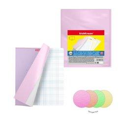 Набор пластиковых обложек ErichKrause® Fizzy Neon  для тетрадей и дневников, 212х347мм, 100 мкм(пакет 12 шт.) 49916