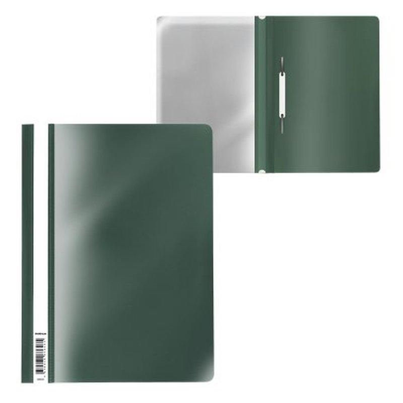 Папка-скоросшиватель пластиковая ErichKrause® Fizzy Classic, A4, зеленый 50005