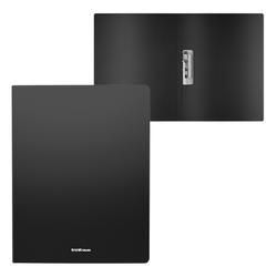 Папка с боковым зажимом пластиковая ErichKrause® Matt Classic, A4, черный 50134
