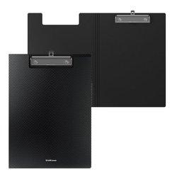 Папка-планшет пластиковая ErichKrause® Diamond Original, A4, черный 50146