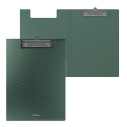 Папка-планшет пластиковая ErichKrause® Diamond Original, A4, зеленый 50149