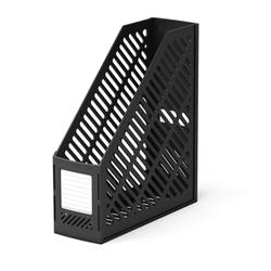 Подставка пластиковая для бумаг вертикальная ErichKrause® Classic, черный 5016