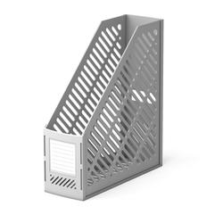 Подставка пластиковая для бумаг вертикальная ErichKrause® Classic, серый 5017