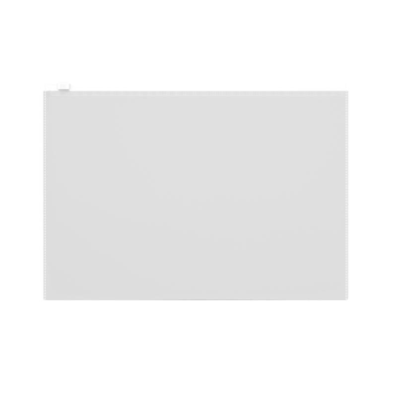 ZIP-пакет пластиковый ErichKrause® Fizzy Clear, A4 335*242*0,12, прозрачный 50330